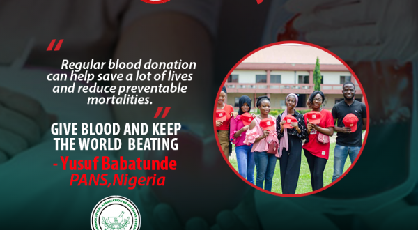 GIVE BLOOD AND KEEP THE WORLD  BEATING